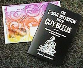 hardcopy version of interview with Guy Bleus - published by Joel (USA)