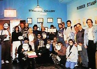 Stamp Art Gallery - 1996